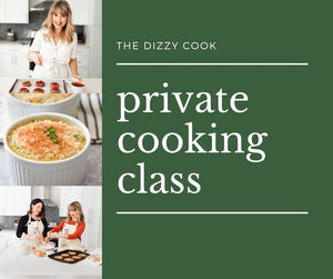 Private Online Cooking Class