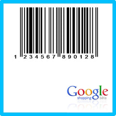 Google Shopping EAN UPC Barcode Numbers