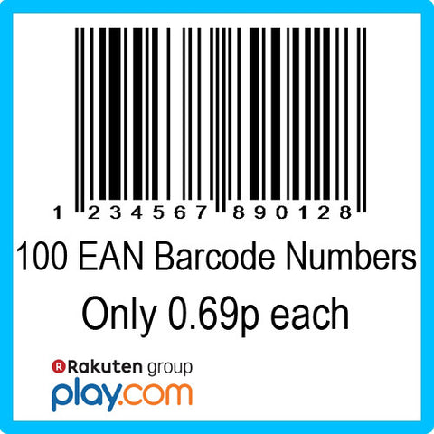 100 PlayTrade EAN UPC Barcode Numbers