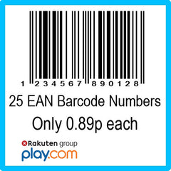 25 PlayTrade EAN UPC Barcode Numbers