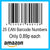 25 Amazon EAN UPC Barcode Numbers
