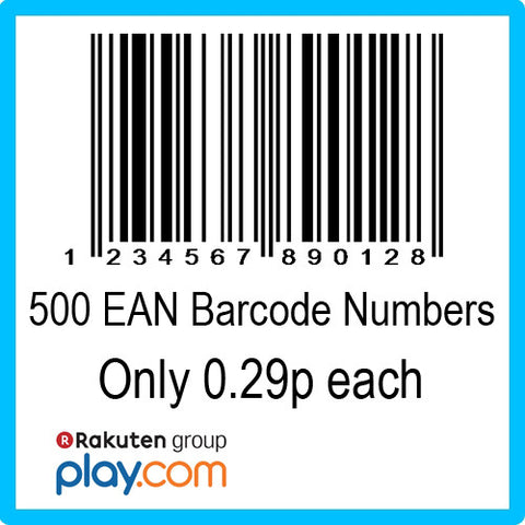 500 PlayTrade EAN UPC Barcode Numbers
