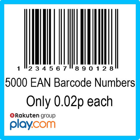 5000 PlayTrade EAN UPC Barcode Numbers