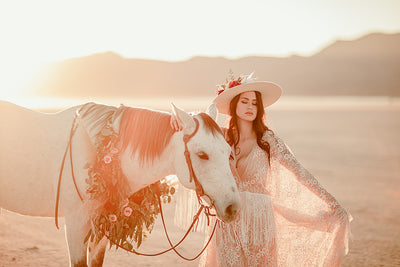 Desert Rose Boho Wedding