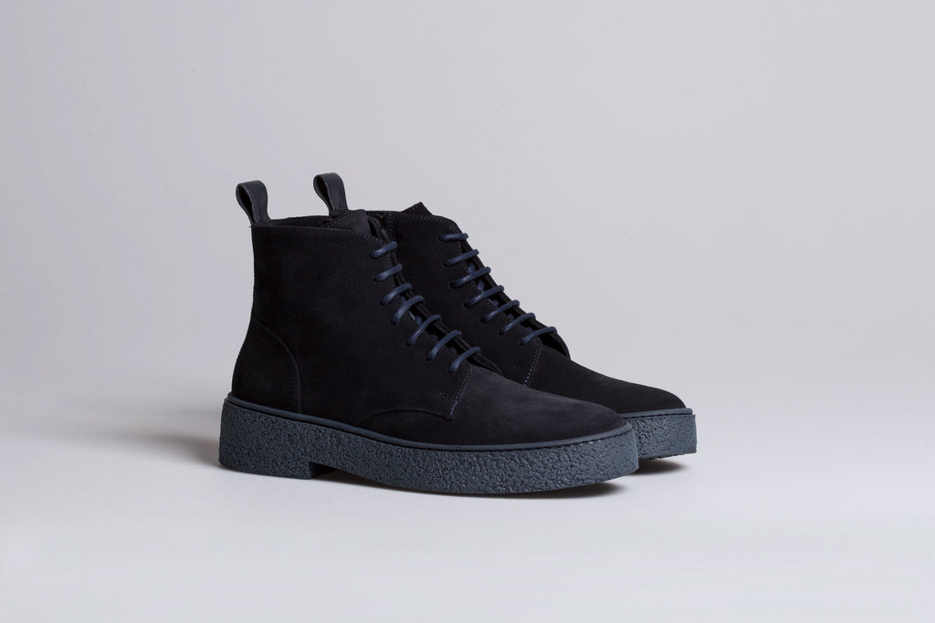 A3 SUEDE OLTREMARE