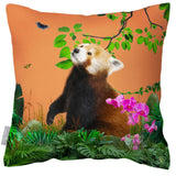 Outdoor Waterproof Garden Cushion - Rare Red Panda