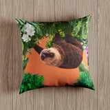 Outdoor Waterproof Garden Cushion - The Relaxing Sloth