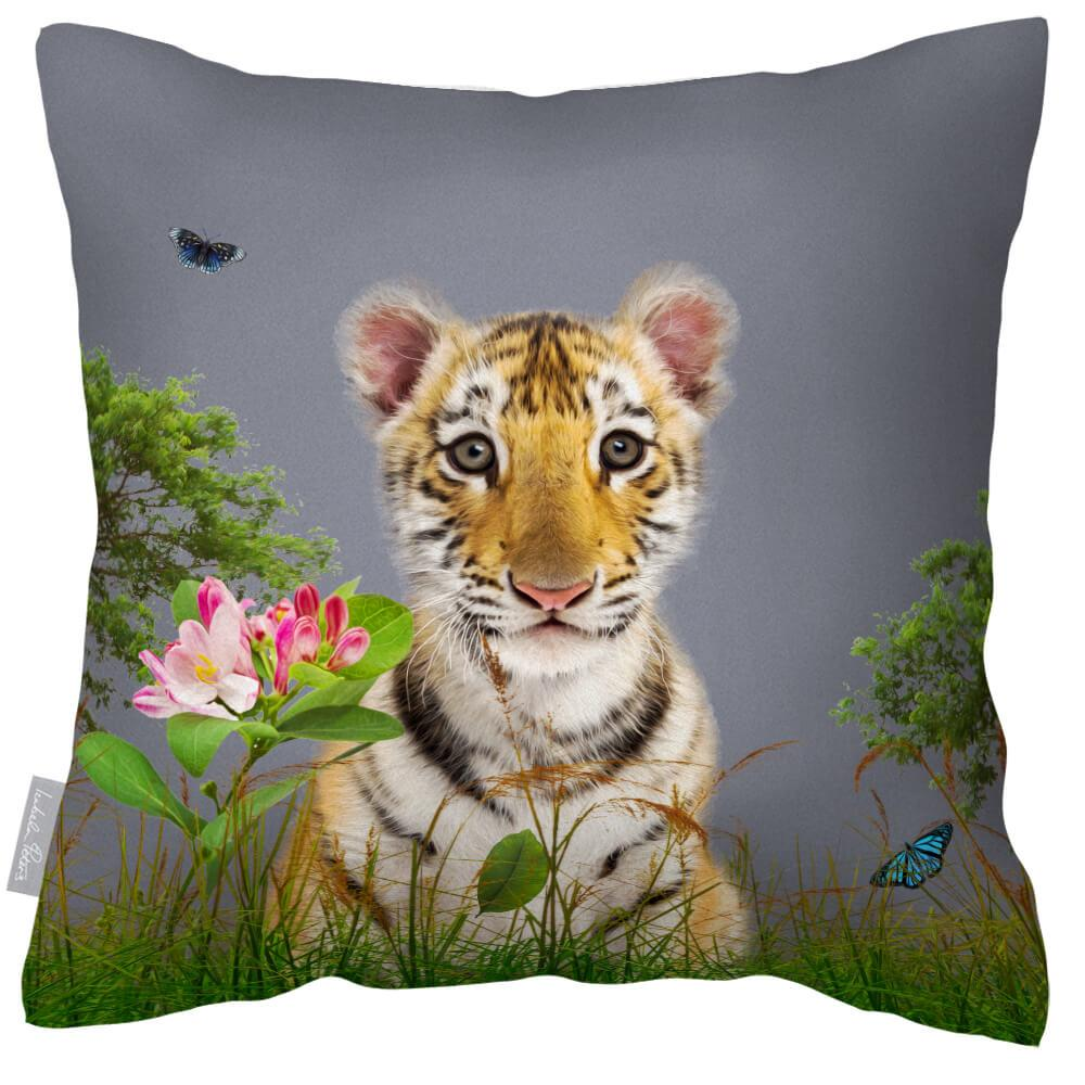 Outdoor Waterproof Garden Cushion - Tiger Prince