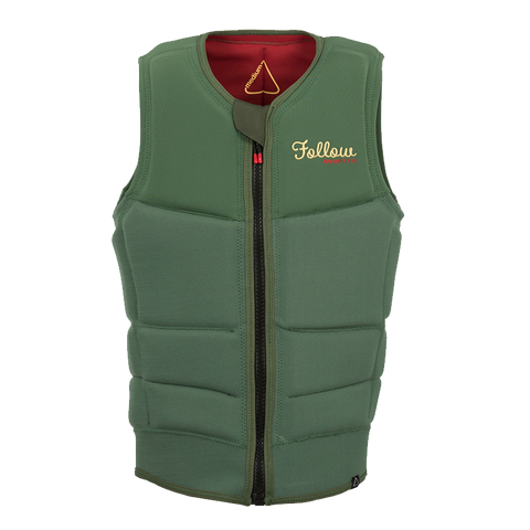 Follow Mitch Pro Impact Vest Emerald