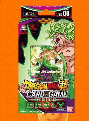 Dragon Ball Super Card Game Series 6 Destroyer Kings Rising Broly Starter Deck