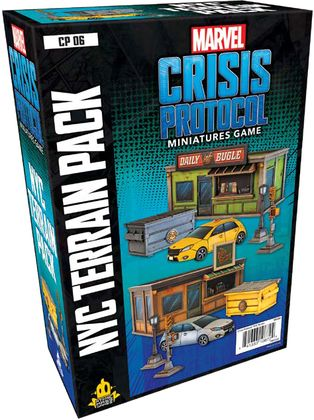 Marvel Crisis Protocol - New York City Terrain Pack