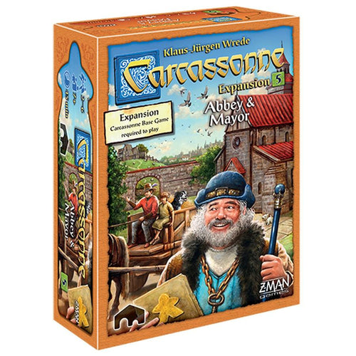 Carcassonne: Expansion 5 - Abbey & Mayor