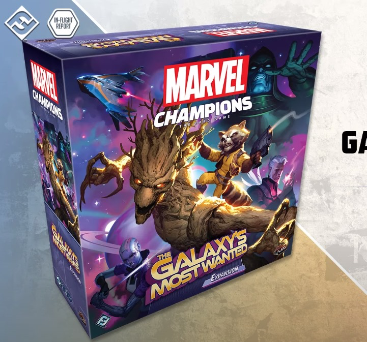 PREORDER Marvel Champions: LCG - The Galaxys Most Wanted Expansion