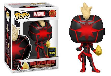 Captain Marvel - Dark Captain Marvel SDCC 2020 Exclusive Pop! Vinyl Figure