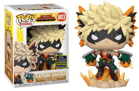 My Hero Academia - Katsuki Bakugo SDCC 2020 Exclusive Pop! Vinyl Figure