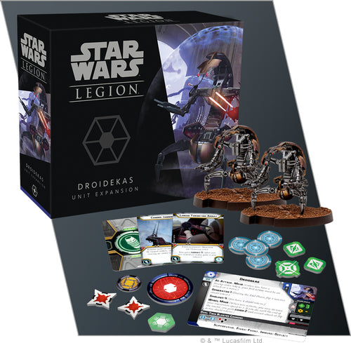 Star Wars Legion Droidekas Unit Expansion