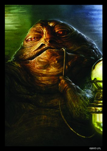 Card Protector Sleeves - Star Wars Jabba the Hutt