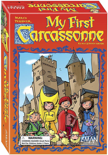 BACKORDER My First Carcassonne (Carcassonne for all ages)
