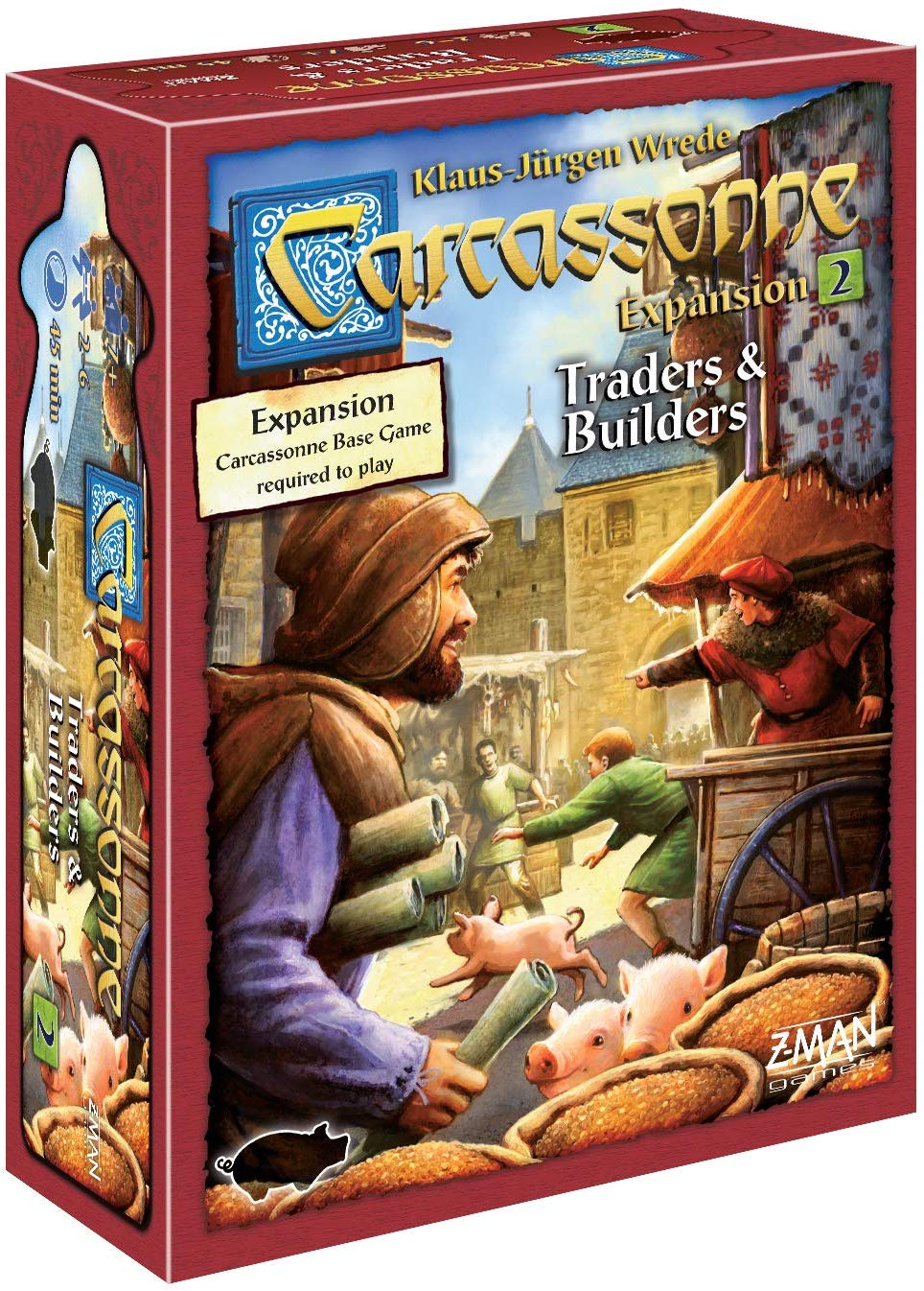 BACKORDER Carcassonne: Expansion 2 – Traders & Builders
