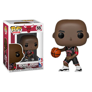 NBA: Bulls - Michael Jordan Black Uniform Pop! Vinyl Figure