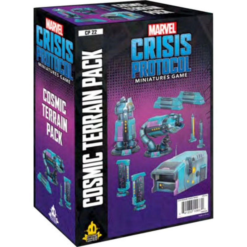PREORDER Marvel Crisis Protocol - Cosmic Terrain Pack