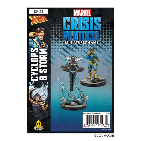 PREORDER Marvel Crisis Protocol - Storm and Cyclops