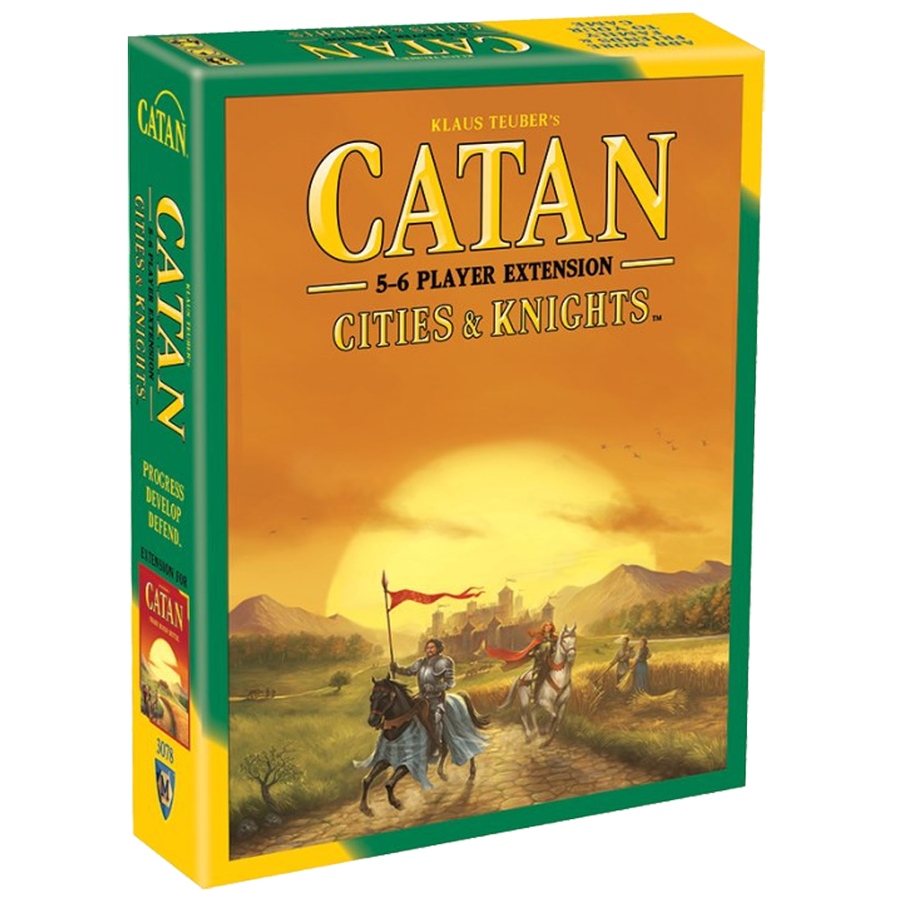 Catan - Cities & Knights Expansion - Extension for 5-6 Players 5th Edition
