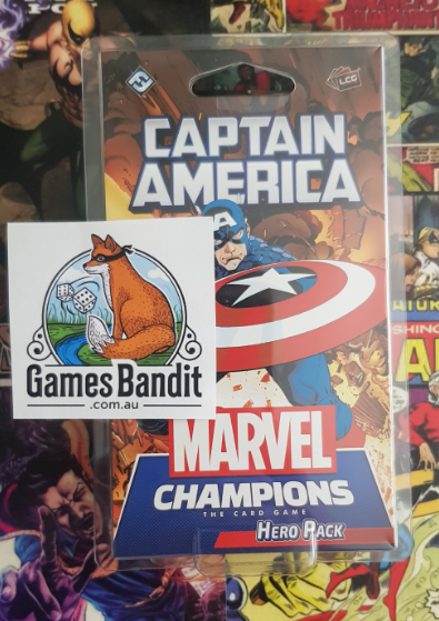 Marvel Champions: LCG - Captain America Hero Pack