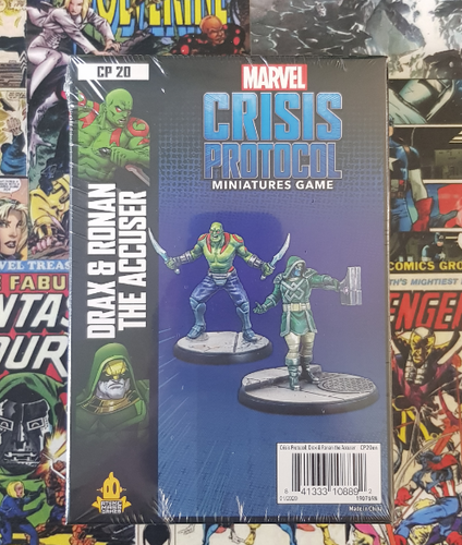 Marvel Crisis Protocol - Drax & Ronan the Accuser Character Pack (Release 15th May)