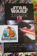 Load image into Gallery viewer, Star Wars Legion Darth Maul and Sith Probe Droids Operative Expansion