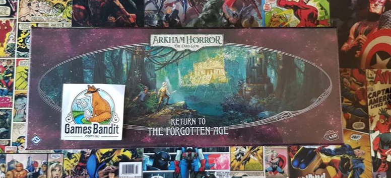Arkham Horror LCG - The Forgotten Age Deluxe Expansion (Release 7th Aug)