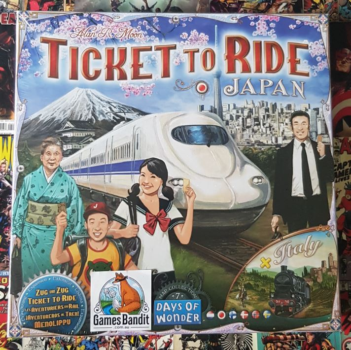 Ticket To Ride: Japan & Italy Expansion - Map Collection 7