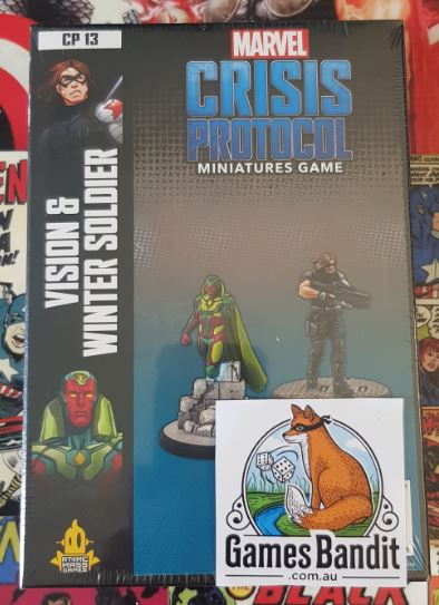 Marvel Crisis Protocol - Vision and Winter Soldier Expansion