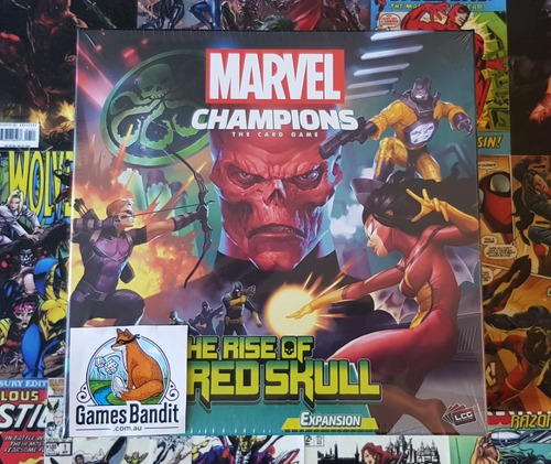 PICKUP PROMOTION Marvel Champions: LCG - The Rise of Red Skull Campaign Expansion