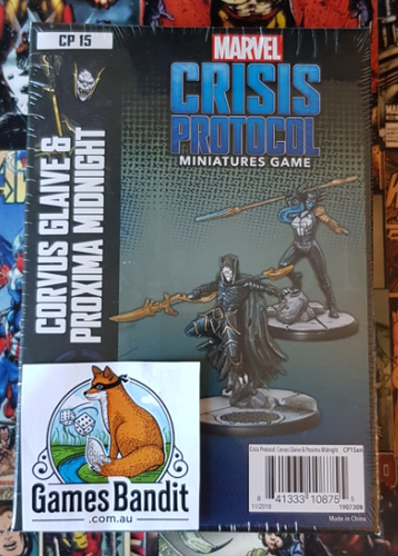 Marvel Crisis Protocol - Corvus Glaive and Proxima Midnight Expansion (Release 8th May)