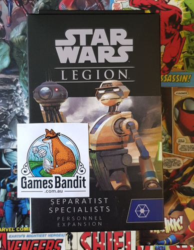 Star Wars Legion Separatist Specialists Personnel Expansion (19th Feb)