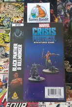 Load image into Gallery viewer, Marvel Crisis Protocol - Black Panther and Killmonger
