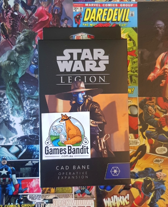Star Wars Legion Cad Bane Operative Expansion
