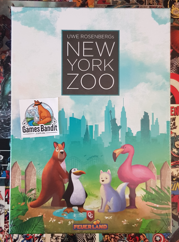 New York Zoo Board Game (January)