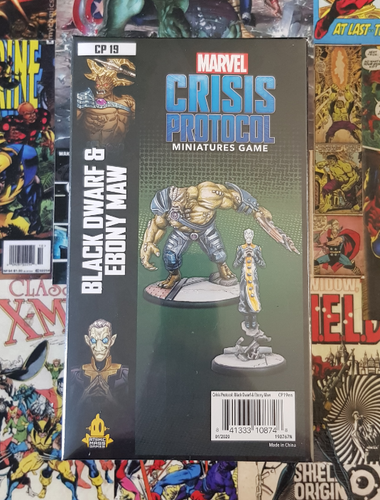 Marvel Crisis Protocol - Black Dwarf and Ebony Maw (Release 15th May)