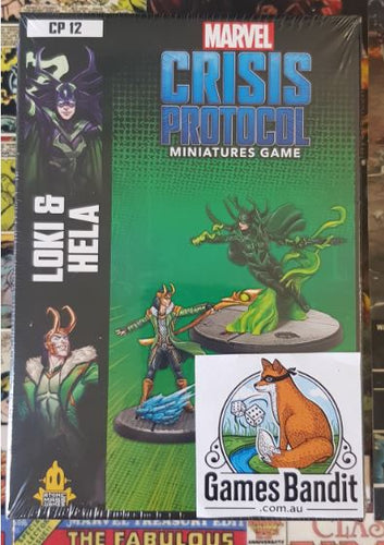 Marvel Crisis Protocol - Loki and Hella Expansion (RELEASE 14/02/2020)