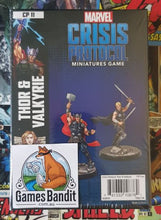 Load image into Gallery viewer, Marvel Crisis Protocol - Thor and Valkyrie (RELEASE 14/02/2020)