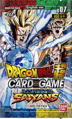 Dragon Ball Super Card Game Series 7 Assault Of The Saiyans Booster Pack [DBS-B07]