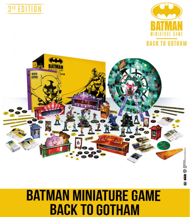 Batman 3rd Edition - Back to Gotham Batman vs Joker Starter Box