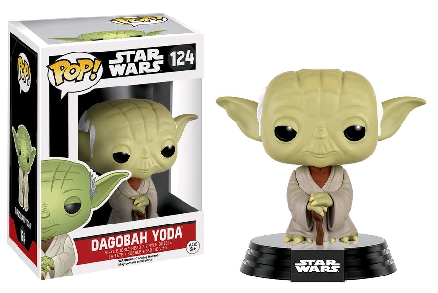 Star Wars - Dagobah Yoda Pop! Vinyl Figure
