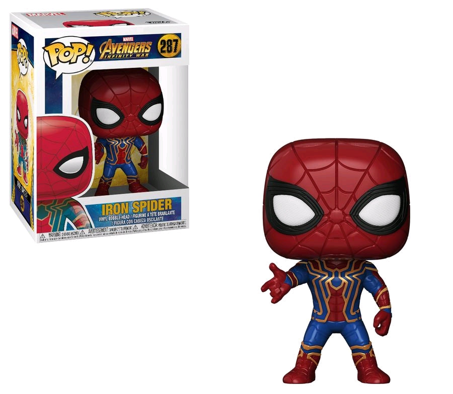 Avengers 3 - Iron Spider Pop! Vinyl Figure