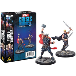 Marvel Crisis Protocol - Thor and Valkyrie (RELEASE 14/02/2020)