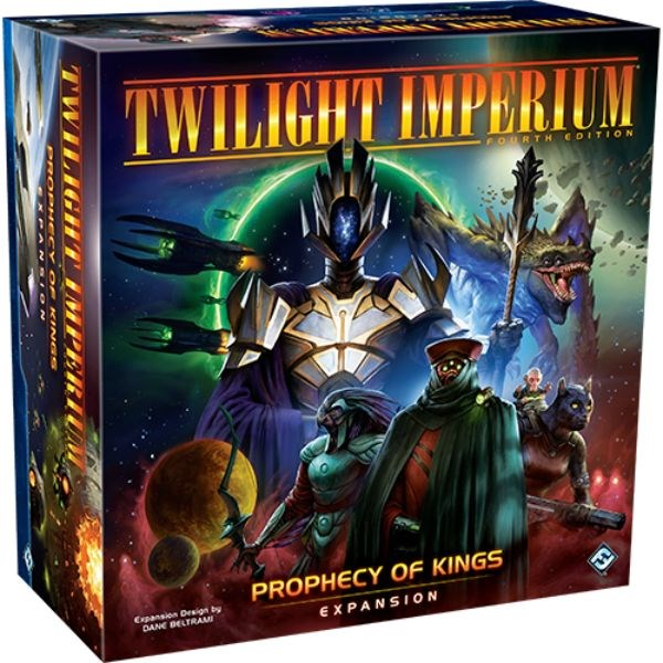 PREORDER Twilight Imperium 4th Edition - Prophecy of Kings Expansion