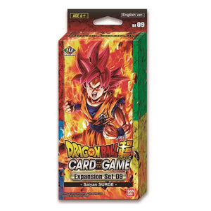 Dragon Ball Super Card Game Expansion Set 9 Saiyans Surge [DBS-BE09]