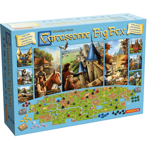 BACKORDER Carcassonne: Big Box (2017)